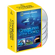 Creatures of the Deep 4 DVD Set, 2008