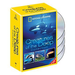View Creatures of the Deep 4 DVD Set image
