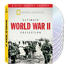 History of World War II on DVD