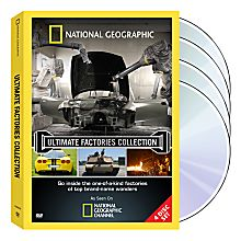 Ultimate Factories DVDs