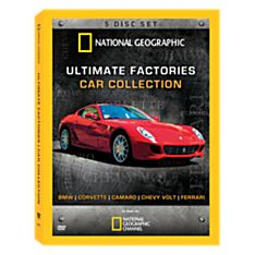 Ultimate Factories Car Collection 5-DVD Set - 9781426299766