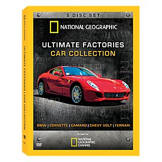 View Ultimate Factories Car Collection 5-DVD Set image