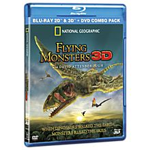 Flying Monsters 3D Blu-Ray and DVD Combo Pack, 2012