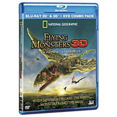 Flying Monsters 3D Blu-ray and DVD Combo Pack
