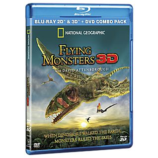 View Flying Monsters 3D Blu-ray and DVD Combo Pack image