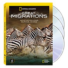 Great Migrations 3-DVD Set, 2010