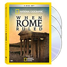 When Rome Ruled 3-DVD Set, 2011