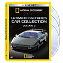 Ultimate Factories Car Collection DVD Set Volume 2