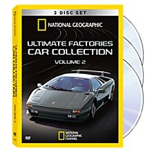Ultimate Car Factories DVD