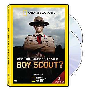 View Are You Tougher Than A Boy Scout? DVD image