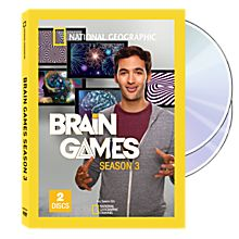 Brain Games Season Three DVD Set, 2014