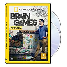 Brain Games Seasons on DVD
