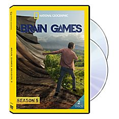 Brain Games Season Five 2-DVD Set, 2015