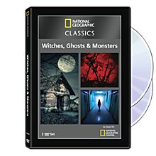 National Geographic Classics: Witches, Ghosts & Monsters 3-DVD Set