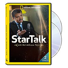 Startalk with Neil Degrasse Tyson 2-DVD Set, 2015