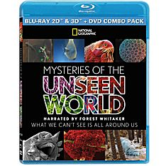 Mysteries of the Unseen World DVD and Blu-Ray Set, 2015