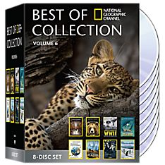 Best of National Geographic Collection Volume Six 8-DVD Set