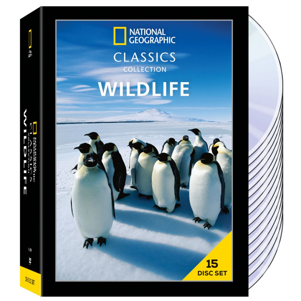 National Geographic Classics Collection: Wildlife 15-DVD Set