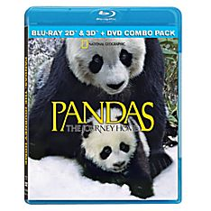 Pandas: The Journey Home Blu-ray and DVD