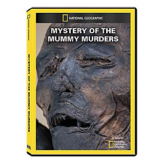 Mystery of the Mummy Murders DVD Exclusive