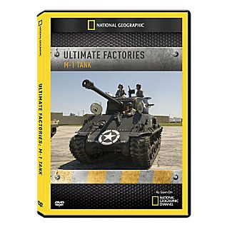 Ultimate Factories: M-1 Tank DVD Exclusive