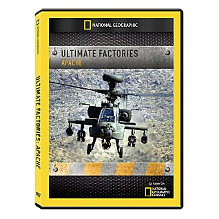 Ultimate Factories: Apache Helicopter DVD-R