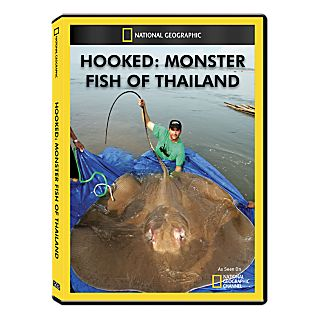 View Hooked: Monster Fish of Thailand DVD Exclusive image