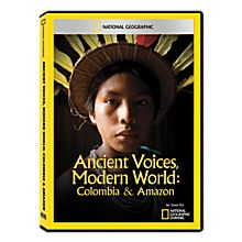 Ancient Voices, Modern World: Colombia & Amazon DVD