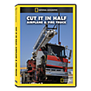 Cut It in Half: Airplane and Fire Truck DVD Exclusive