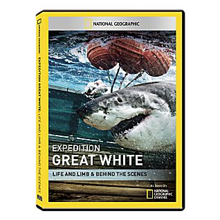 Expedition Great White: Life and Limb & Behind the Scenes DVD-R