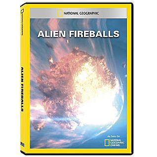 Alien Fireballs DVD-R