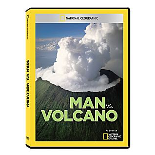 View Man vs. Volcano DVD-R image