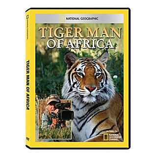 View Tiger Man of Africa DVD-R image