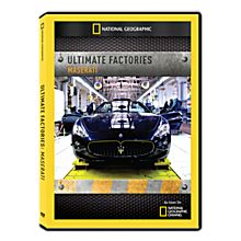 Ultimate Factories: Maserati DVD-R
