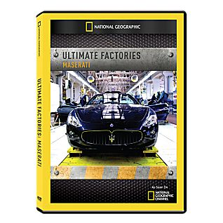 View Ultimate Factories: Maserati DVD-R image