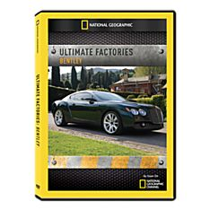 Ultimate Factories: Bentley DVD-R