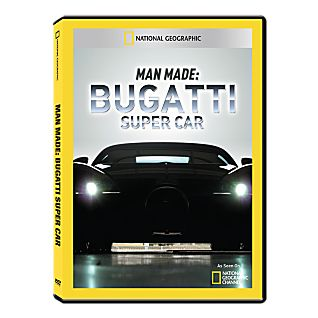 View Man Made: Bugatti Super Car DVD-R image