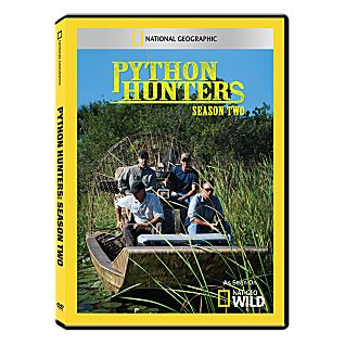 Python Hunters Season Two DVD-R Set