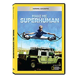 View Make Me Superhuman DVD-R image