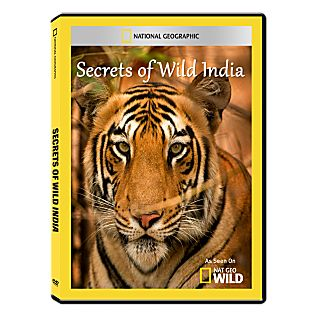 Secrets of Wild India DVD-R