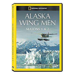 Alaska Wing Men Seasons One and Two DVD-R Set
