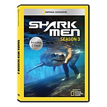 Shark Men Season Three DVD-R, 2012
