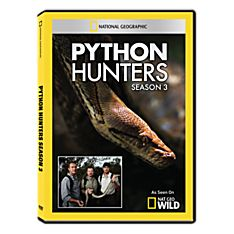 Python Hunters: Season Three DVD-R