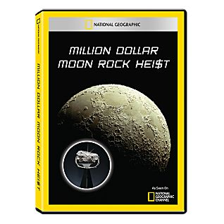 Million Dollar Moon Rock Heist DVD-R