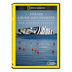 Italian Cruise Ship Disaster: The Untold Stories DVD-R