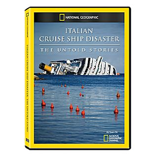View Italian Cruise Ship Disaster: The Untold Stories DVD-R image