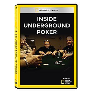 Inside Underground Poker DVD-R