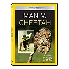 Man vs. Cheetah DVD-R