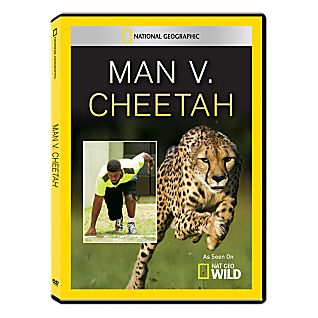 View Man vs. Cheetah DVD-R image