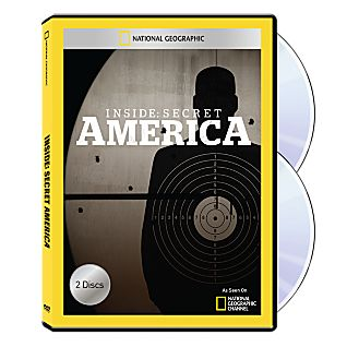 Inside Secret America DVD-R